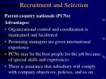 recruitment and selection17