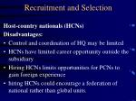 recruitment and selection20