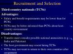recruitment and selection21