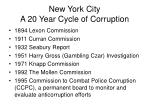 new york city a 20 year cycle of corruption