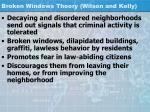 broken windows theory wilson and kelly
