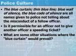 police culture39