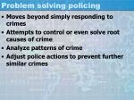 problem solving policing