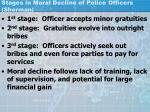 stages in moral decline of police officers sherman