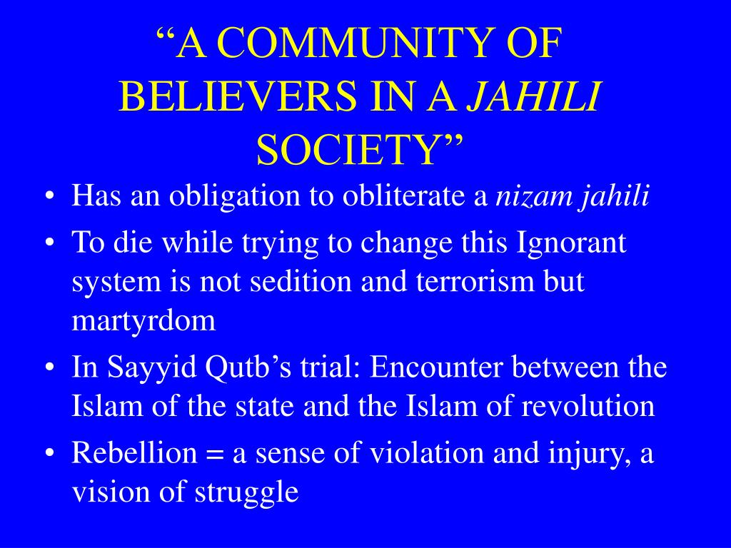 """""""A COMMUNITY OF BELIEVERS IN A"""