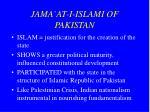 jama at i islami of pakistan