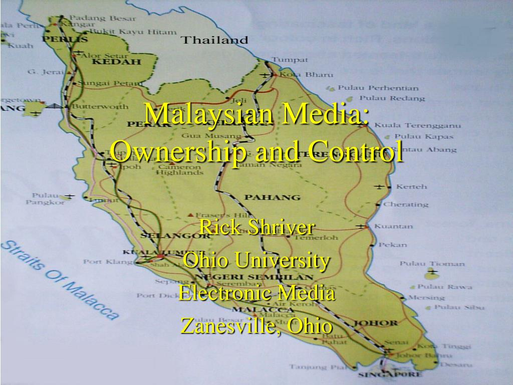 malaysian media ownership and control l.
