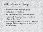 11 indonesian groups