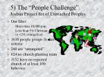 5 the people challenge joshua project list of unreached peoples
