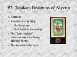 7 tajakant bedouins of algeria