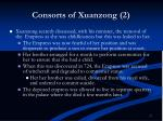 consorts of xuanzong 2