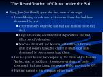 the reunification of china under the sui