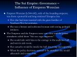 the sui empire governance influence of empress wenxian