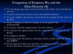 usurpation of empress wu and the zhao dynasty 4