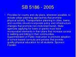sb 5186 2005