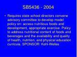 sb5436 2004