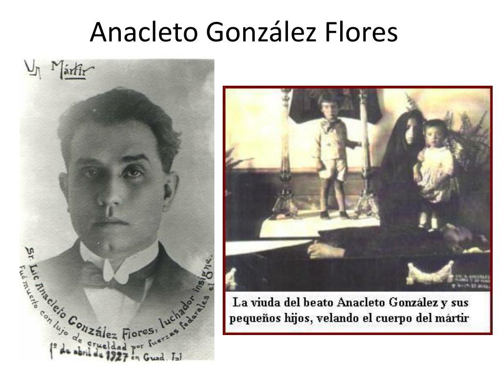 Anacleto González Flores