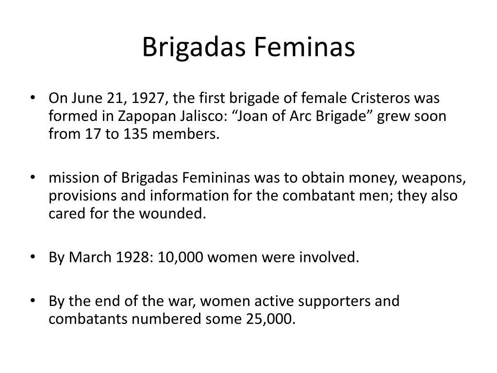 Brigadas Feminas
