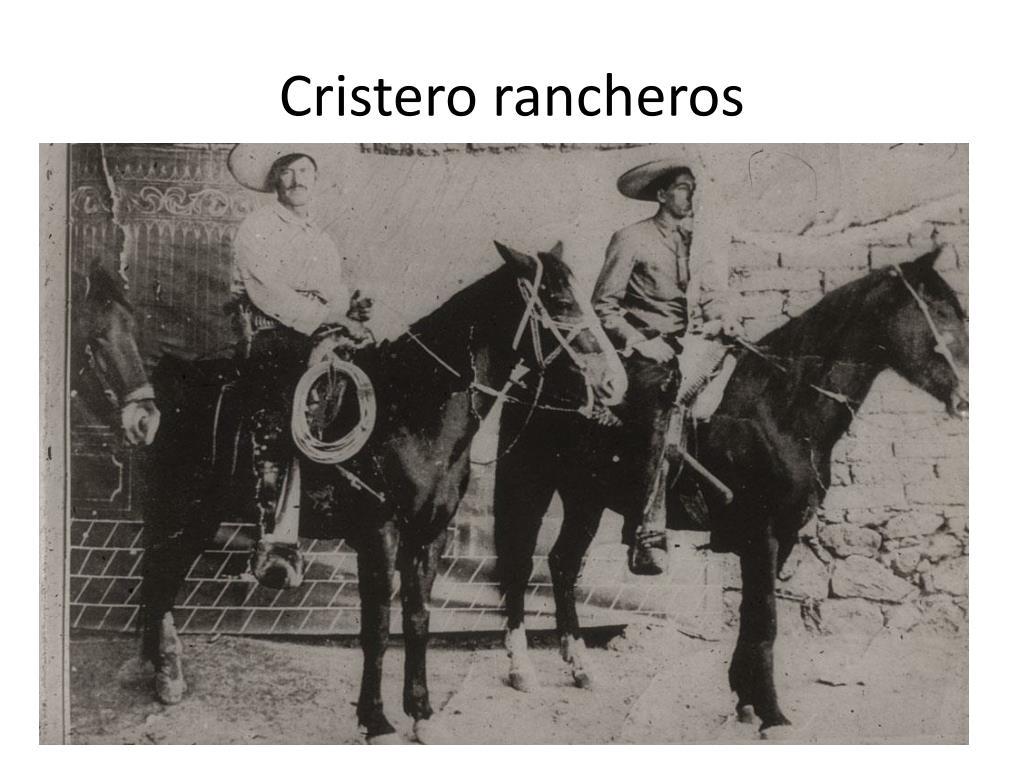 Cristero rancheros
