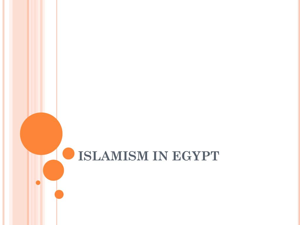 islamism in egypt l.