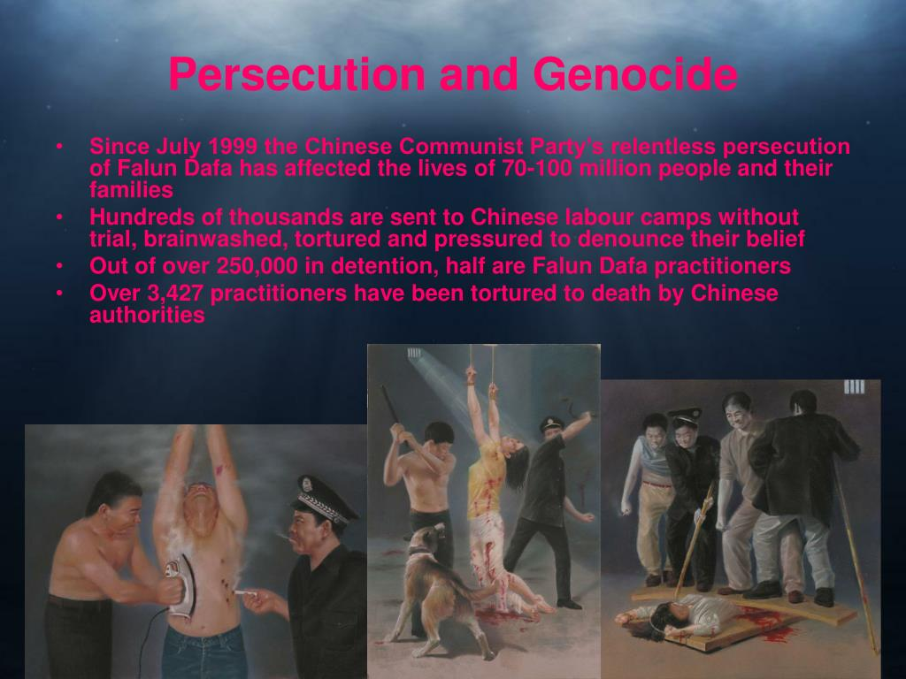 Persecution and Genocide