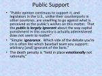 public support18