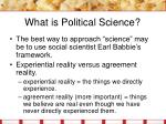 what is political science15