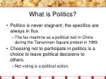 what is politics9