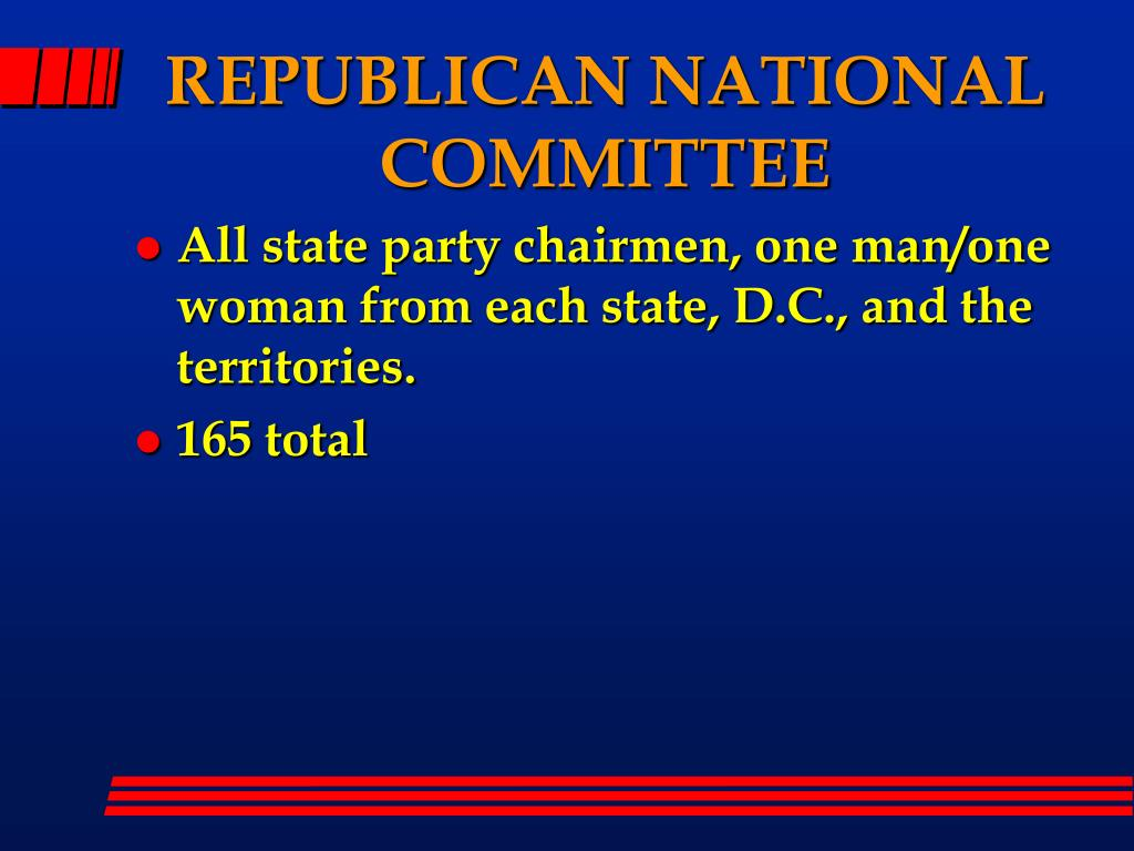 REPUBLICAN NATIONAL COMMITTEE