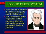 second party system