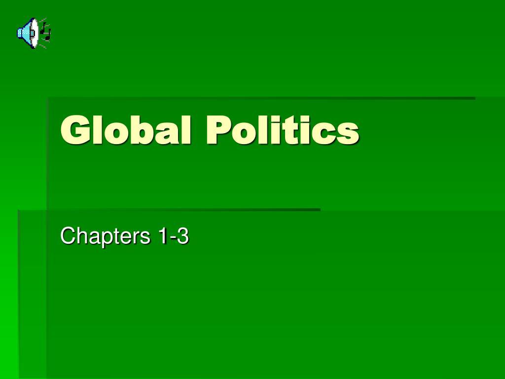 global politics l.