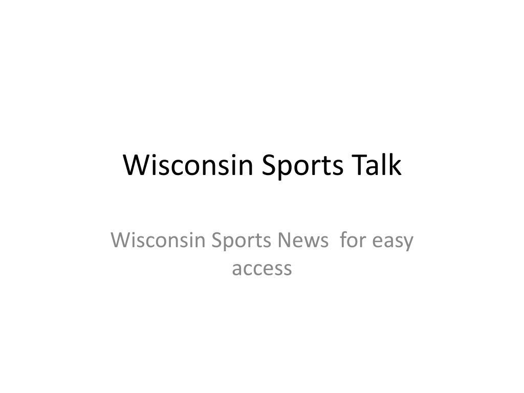 wisconsin sports talk l.