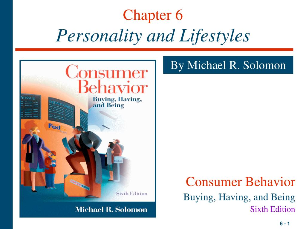 chapter 6 personality and lifestyles l.