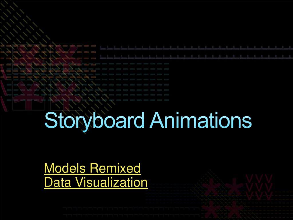 Storyboard Animations