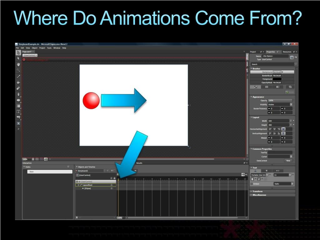 Where Do Animations Come From?