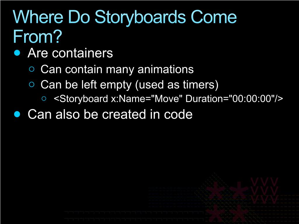 Where Do Storyboards Come From?