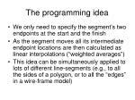 the programming idea
