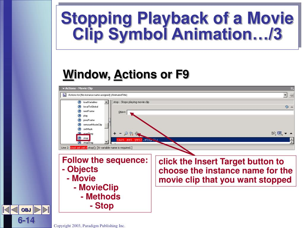 Stopping Playback of a Movie Clip Symbol Animation…/3