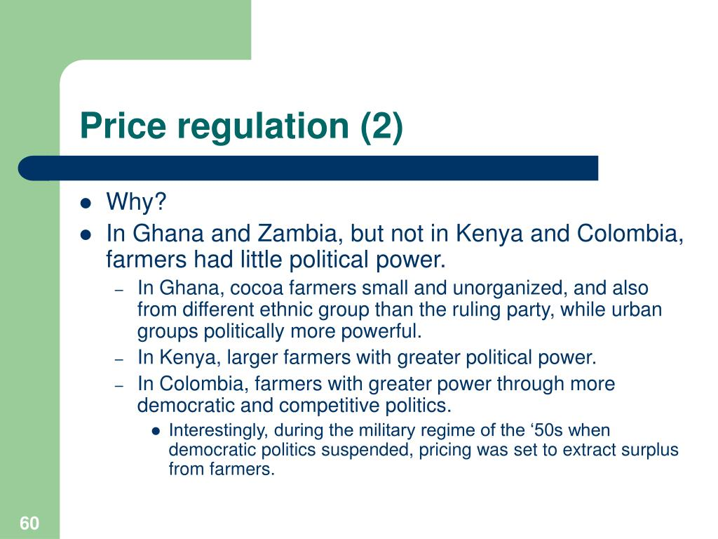 Price regulation (2)