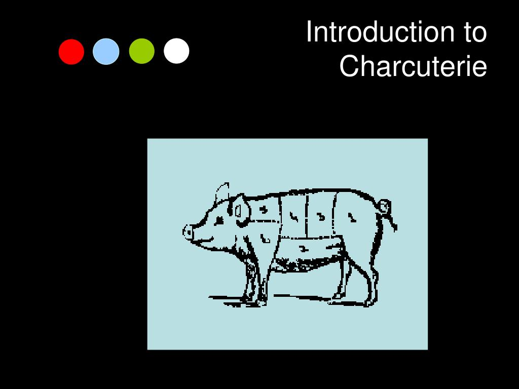 introduction to charcuterie l.