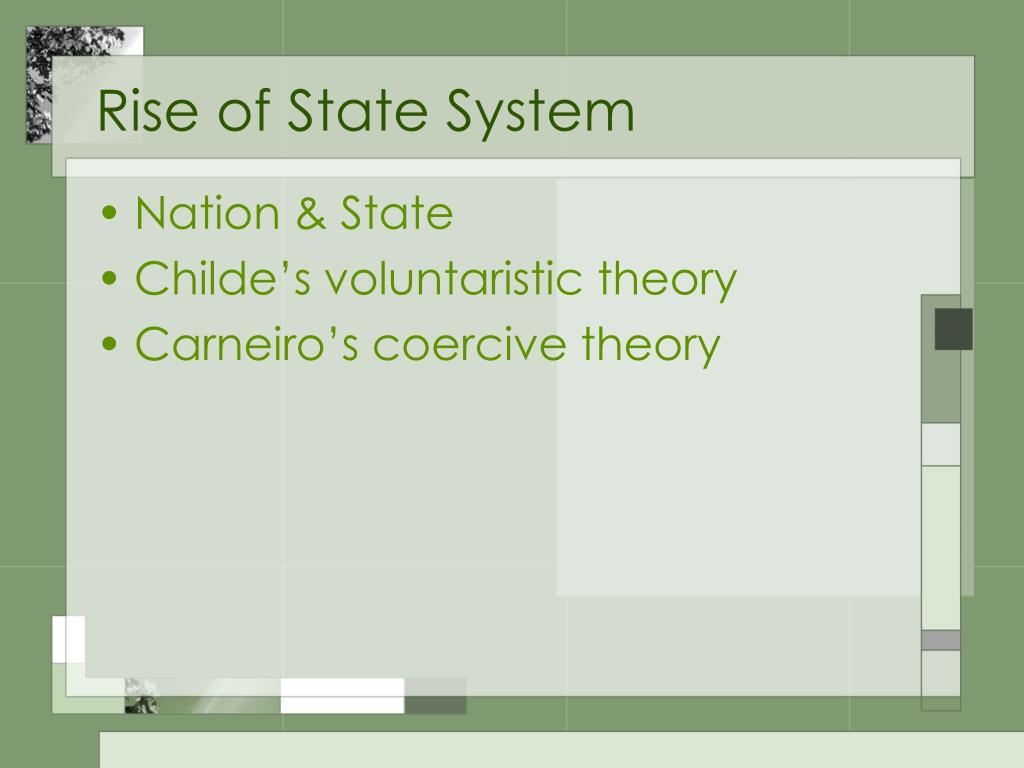 Rise of State System