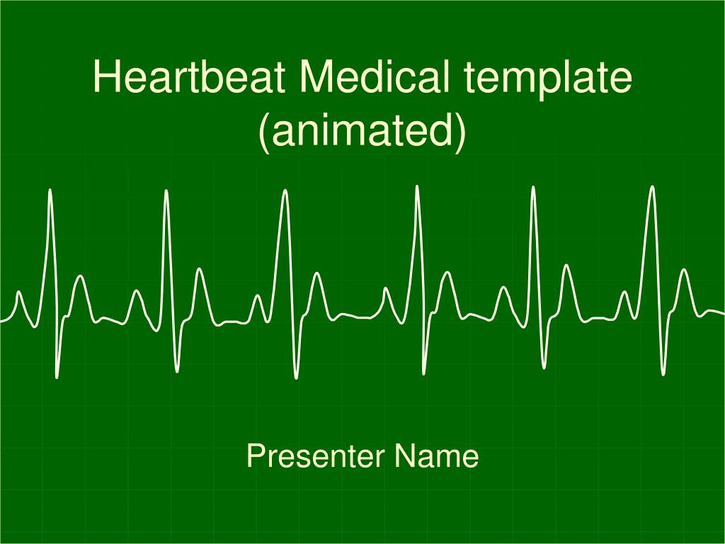 Heartbeat Medical template