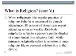 what is religion cont d29