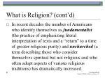 what is religion cont d31