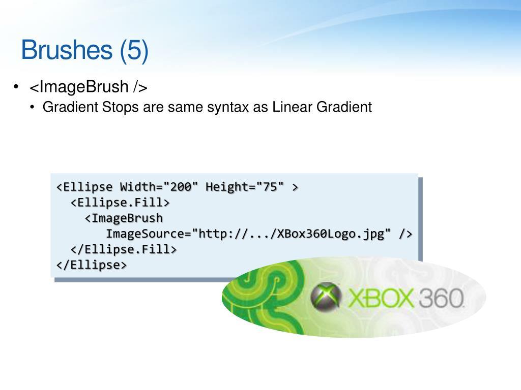 Brushes (5)