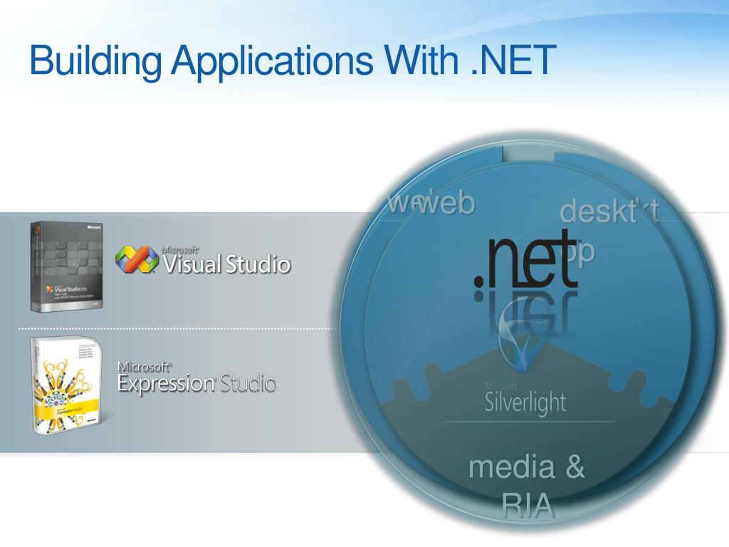 Building Applications With .NET