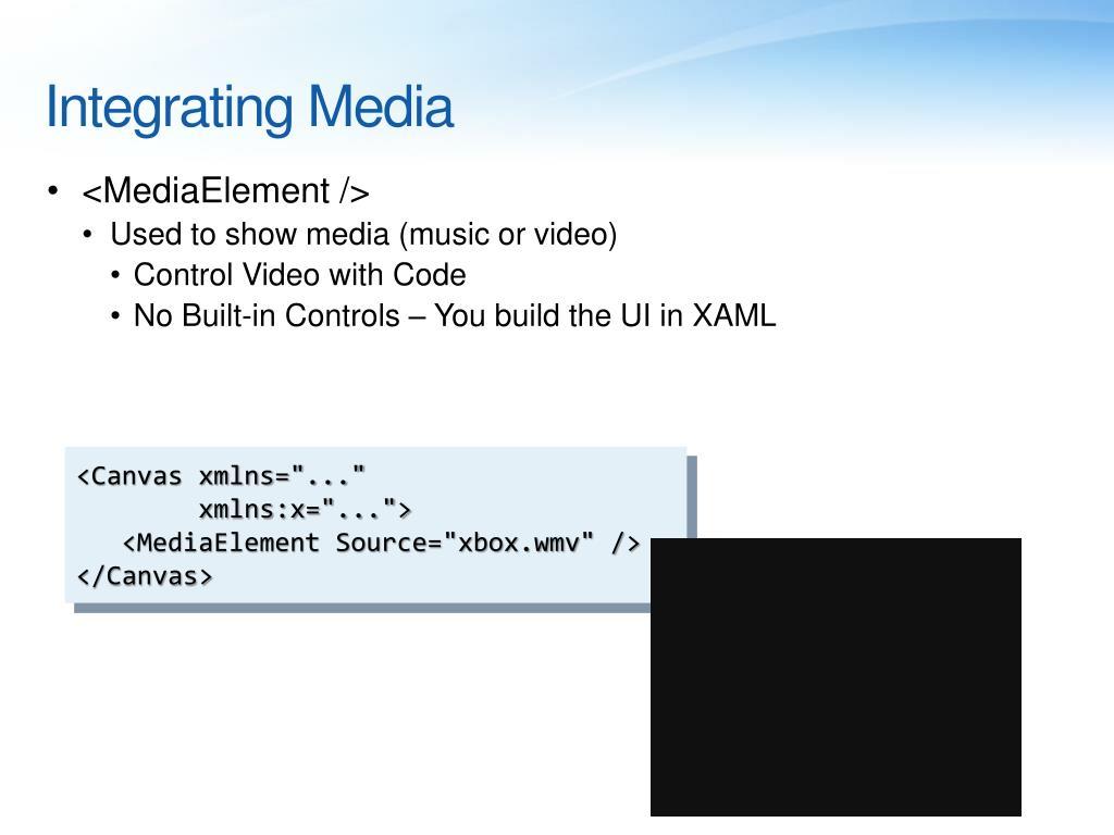 Integrating Media