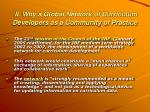 ii why a global network of curriculum developers as a community of practice