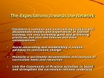 the expectations towards the network27