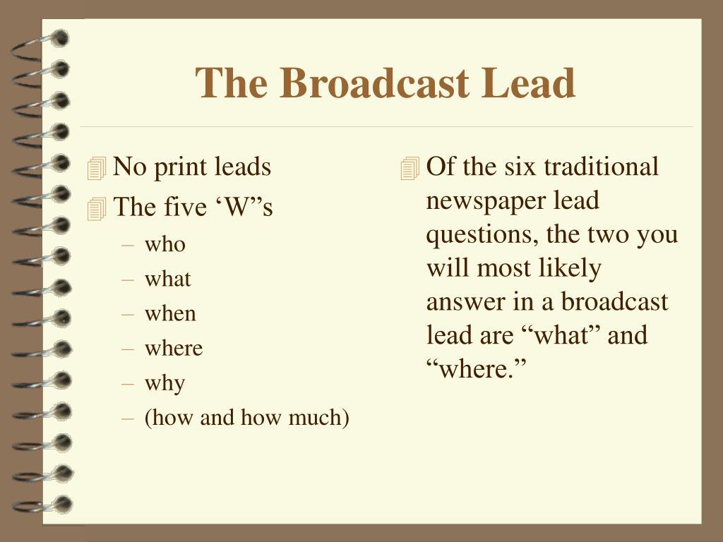 No print leads